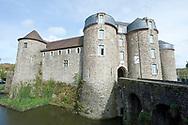 The 13th century Château, on the eastern corner of the old town, Boulogne-sur-Mer, Pas-de-Calais, France © Rudolf Abraham