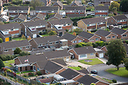 The roof tops of bungalow and houses on the Linksway housing estate, Folkestone, Kent. (photo by Andrew Aitchison / In pictures via Getty Images)