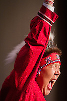 Quyana Alaksa dance celebration, AFN Annual Convention, Dena'ina Convention Center, Anchorage, Alaska