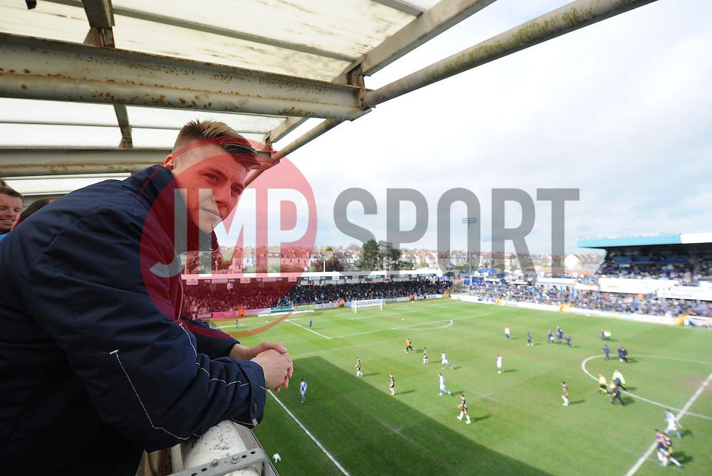 - Photo mandatory by-line: Alex James/JMP - Mobile: 07966 386802 12/04/2014 - SPORT - FOOTBALL - Bristol - Memorial Stadium - Bristol Rovers v Torquay United - Sky Bet League Two