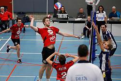 21-12-2013 VOLLEYBAL: BEKER ZAANSTAD - PRINS VCV: ZAANSTAD<br /> Wouter van Ark, Prins VCV<br /> ©2013-FotoHoogendoorn.nl / Pim Waslander