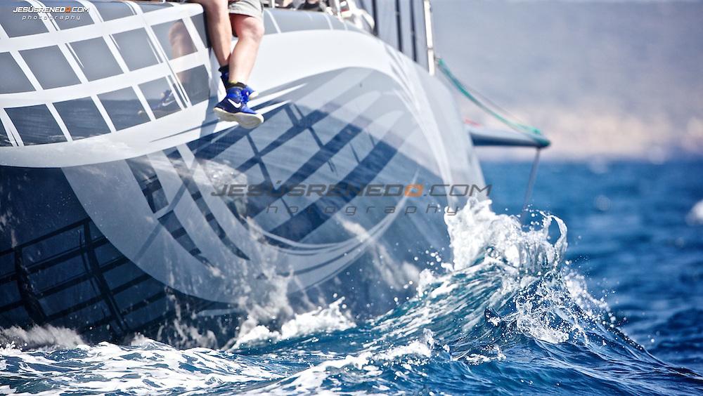 Judel Vrolijk 72, Ran V , first sail trials in Mallorca,Spain.© Jesús Renedo