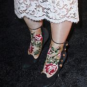 NLD/Amsterdam/20121119 - Inloop Marie Claire Prix de la Mode 2012 , Schoenen van Lauren Verster