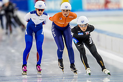 10-11-2017 NED: ISU World Cup, Heerenveen<br /> Massa start, Irene  Schouten NED