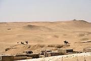 Sahara and The Great Pyramids at Giza  Giza, Egypt