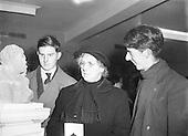 1955 - Edward Delaney Art and Sculpture Exhibition