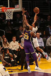February 27, 2019 - Los Angeles, CA, U.S. - LOS ANGELES, CA - FEBRUARY 27: New Orleans Pelicans Guard Frank Jackson (15) during the first half of the New Orleans Pelicans versus Los Angeles Lakers game on February 27, 2019, at Staples Center in Los Angeles, CA. (Photo by Icon Sportswire) (Credit Image: © Icon Sportswire/Icon SMI via ZUMA Press)