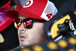 June 2, 2017 - Dover, DE, United States of America - June 02, 2017 - Dover, DE, USA: Kyle Larson (42) hangs out in the garage prior to practice for the Delaware 200 at Dover International Speedway in Dover, DE. (Credit Image: © Justin R. Noe Asp Inc/ASP via ZUMA Wire)