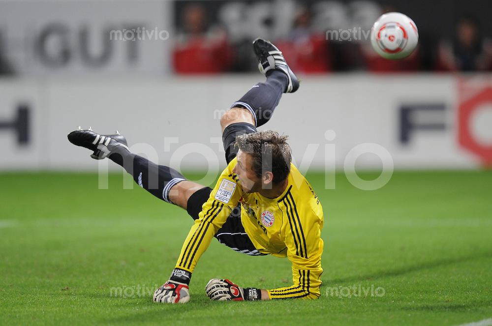 FUSSBALL   1. BUNDESLIGA   SAISON 2010/2011  5. SPIELTAG    21.09.2010 TSG 1899 Hoffenheim - FC Bayern Muenchen Hans Joerg Butt (FC Bayern Muenchen)