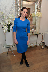 KIRSTY GALLACHER at a Valentine's charity event to raise heart awareness and support the charity Arrhythmia Alliance held at Sophie Gass, 4 Ladbroke Grove, London on 13th February 2014.