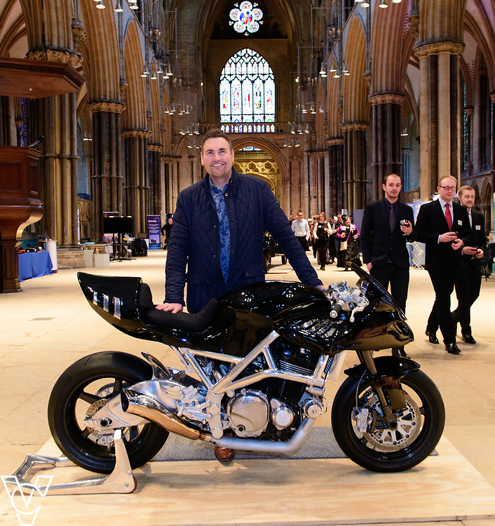 SPARK! Engineering Festival 2017 preview evening at Lincoln Cathedral.  The event, which is a celebration of engineering takes place between May 5 and May 7, 2017.<br /> <br /> Picture: Chris Vaughan Photography<br /> Date: May 4, 2017