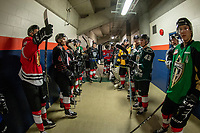 KAMLOOPS, CANADA - NOVEMBER 5: Team WHL  on November 5, 2018 at Sandman Centre in Kamloops, British Columbia, Canada.  (Photo by Marissa Baecker/Shoot the Breeze)