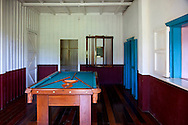 Pool room in Biran, Holguin, Cuba.
