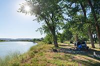Judith Landing campsite, Upper Missouri Breaks National Monument Montana