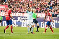 Celta de Vigo's Nolito during La Liga Match at Vicente Calderon Stadium in Madrid. May 14, 2016. (ALTERPHOTOS/BorjaB.Hojas)
