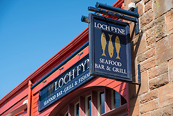 Loch Fyne Seafood Bar & Grill  at Newhaven in Edinburgh, Scotland, United Kingdom