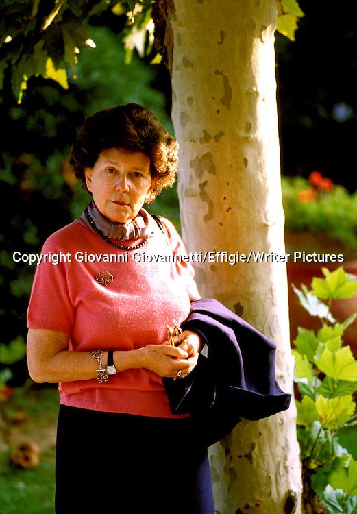 Maria Corti<br /> <br /> <br /> 18/06/2003<br /> Copyright Giovanni Giovannetti/Effigie/Writer Pictures<br /> NO ITALY, NO AGENCY SALES