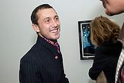 DAN MACMILLAN, Nothing Matters. Damien Hirst exhibition. White Cube. Mason's Yard. London. 24 November 2009