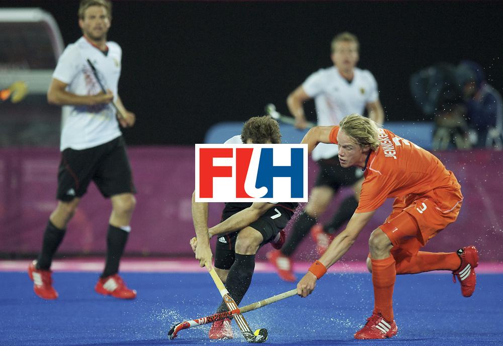 LONDON - Olympische Spelen 2012.men Final Gold.German v Netherlands.Germany wins 2-1.German men Olympic Champion .foto: Oskar Deecke  and Tim Jenniskens..FFU PRESS AGENCY COPYRIGHT FRANK UIJLENBROEK.