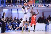 DESCRIZIONE : Brindisi  Lega A 2015-16<br /> Enel Brindisi Openjobmetis Varese<br /> GIOCATORE : Kenneth Kadji<br /> CATEGORIA : Tiro Tre Punti Three Point Controcampo Ritardo<br /> SQUADRA : Enel Brindisi<br /> EVENTO : Campionato Lega A 2015-2016<br /> GARA :Enel Brindisi Openjobmetis Varese<br /> DATA : 29/11/2015<br /> SPORT : Pallacanestro<br /> AUTORE : Agenzia Ciamillo-Castoria/M.Longo<br /> Galleria : Lega Basket A 2015-2016<br /> Fotonotizia : Brindisi  Lega A 2015-16 Enel Brindisi Openjobmetis Varese<br /> Predefinita :