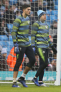 49 Aro Muric and 31 Ederson for Manchester City during the The FA Cup 3rd round match between Manchester City and Rotherham United at the Etihad Stadium, Manchester, England on 6 January 2019.