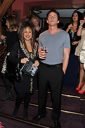 Fashion designer ELIZABETH EMANUEL and TONY DREW at the Russian Ballet Icons Gala & Dinner dedicated to Anna Pavlova held at the The London Coliseum 33-35 St.Martin's Lane, London on 4th March 2012.