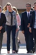 Princess Letizia of Spain visits to Public School 'Maria Moliner' on April 30, 2014 in Villanueva de la Canada, Madrid