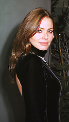 Italian actress ONELLA MUTI at a party in London on 9th December 1998.<br /> MMU 49