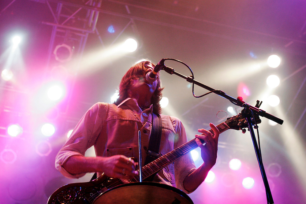 The Avett Brothers perform at House Of Blues, in Myrtle Beach, SC, on July 25, 2009.