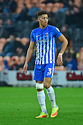Hartlepool United defender Jake Carroll (3) during the EFL Sky Bet League 2 match between Barnet and Hartlepool United at Underhill Stadium, London, England on 29 October 2016. Photo by Jon Bromley.