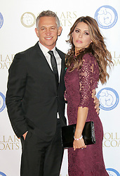 © Licensed to London News Pictures. 07/11/2013. Gary Lineker and his wife Danielle Lineker at the Battersea Dogs & Cats Home Collars & Coats Gala Ball at Battersea Evolution, London UK. Photo credit: by Richard Goldschmidt/LNP