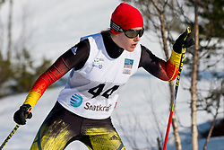 HOSCH Vivian Guide: SCHILLINGER F, GER, Long Distance Cross Country, 2015 IPC Nordic and Biathlon World Cup Finals, Surnadal, Norway