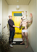 Rob Corddry at the Bunny Party