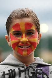 29.05.2010, Bischhofshofen, AUT, Freundschaftsspiel, Mazedonien vs Aserbaidschan, im Bild Fan aus Mazedonien, EXPA Pictures © 2010, PhotoCredit: EXPA/ R.Hackl / SPORTIDA PHOTO AGENCY