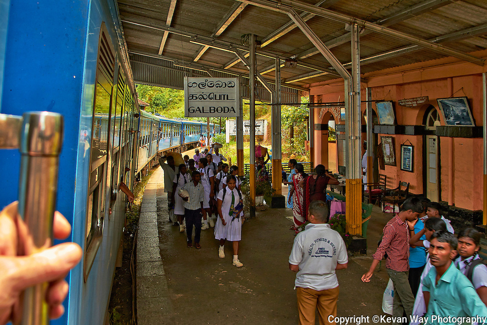 railway station at Garoda Hill Country Sri Lanka