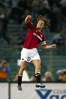 Roma 20 Maggio 2003 - Rome May 20 2003 <br />Andata finale di Coppa Italia - First Match final Italy's Cup <br />Roma Milan 1-4 <br /><br />Francesco Totti