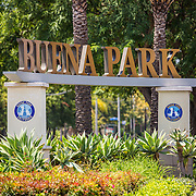 Buena Park,  Brea, & Fullerton Stock Photos