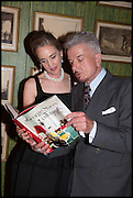 MAUREEN FOOTER; NICKY HASLAM, Nicky Haslam hosts a party to launch a book by  Maureen Footer 'George Stacey and the Creation of American Chic' . With a foreword by Mario Buatta. Kensington. London. 11 June 2014