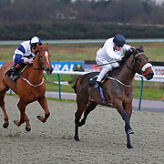 Searchlight and Jim Crowley winning the 3.35 race