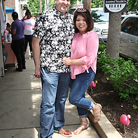 Dave Tobin and Trish Muyco-Tobin