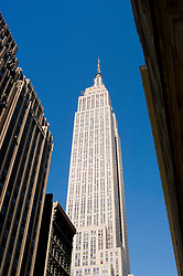 New York City, New York: Empire State Building  .Photo #: ny288-15009  .Photo copyright Lee Foster, www.fostertravel.com, lee@fostertravel.com, 510-549-2202.