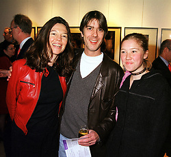 Left to right, JENNIFER HALL daughter of Peter Hall, her husband MR GLEN WILHIDE<br />  and her daughter MISS STEPHANIE CLIVE, at a reception in London on 27th March 2000.OCH 52<br /> © Desmond O'Neill Features:- 020 8971 9600<br />    10 Victoria Mews, London.  SW18 3PY<br /> photos@donfeatures.com   www.donfeatures.com <br /> MINIMUM REPRODUCTION FEE AS AGREED.<br /> PHOTOGRAPH BY DOMINIC O'NEILL