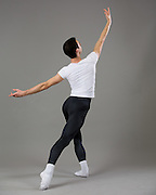 Dillon Perry poses for his professional Ballet Audition Photos in Los Gatos, California, on December 31, 2014. (Stan Olszewski/SOSKIphoto)