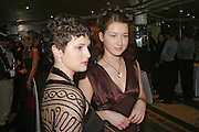 Nina Andreeva and Anna  Pasikova. War and Peace charity Ball, Dorchester Hotel. Park Lane. London. 17 February 2005. ONE TIME USE ONLY - DO NOT ARCHIVE  © Copyright Photograph by Dafydd Jones 66 Stockwell Park Rd. London SW9 0DA Tel 020 7733 0108 www.dafjones.com