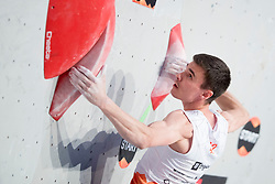 Sergeii Topishko at Fnal of Climbing event - Triglav the Rock Ljubljana 2018, on May 19, 2018 in Congress Square, Ljubljana, Slovenia. Photo by Urban Urbanc / Sportida