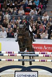 Delaveau, Patrice (FRA), Lacrimoso 3 HDC<br /> Göteborg - Horse Show FEI World Cup Final 2016 <br /> FEI Weltcup Finale III, 1. Runde<br /> © www.sportfotos-lafrentz.de / Stefan Lafrentz