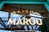Maison Marou Cafe in Ho Chi Minh City, Vietnam.