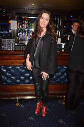 Tana Ramsay at the SheInspiresMe Dance in aid of Women for Women International held at the Café de Paris, 3 Coventry Street, London England. 25 January 2017.
