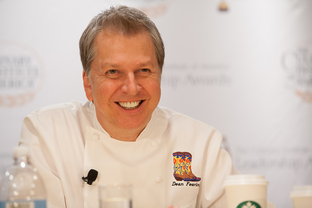Dean Fearing, of Fearing's at the Ritz Carlton in Dallas, brought southwestern American cooking into the realm of fine dining.