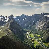Romsdalshorn and Trolltinder